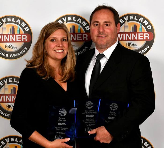 Joseph Marra and Melissa Marra and the Cleveland Choice Awards